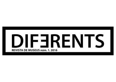 Diseño cabecera revista Diferents