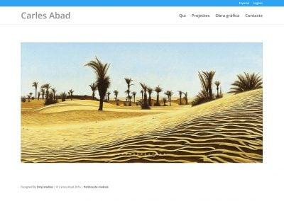 web Carles Abad